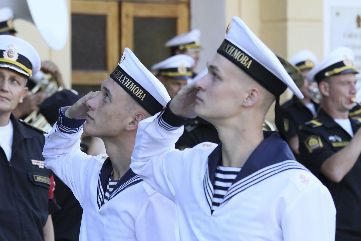 Поздравления курсанта моряка